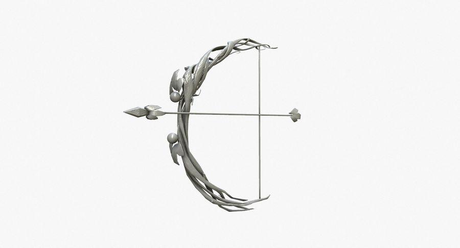 Фэнтезийное оружие - Лук royalty-free 3d model - Preview no. 8