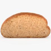 パンのスライス 3d model