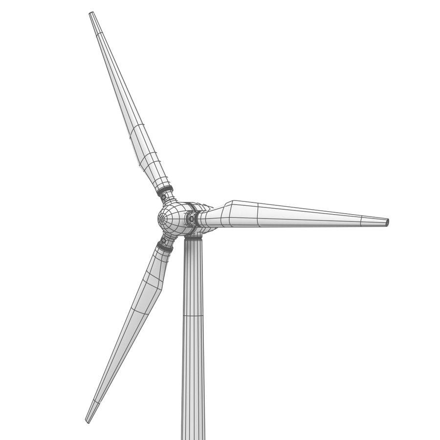 Ветровая турбина royalty-free 3d model - Preview no. 8