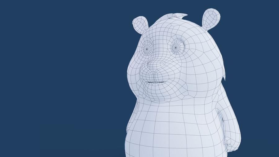 Low Poly Panda royalty-free 3d model - Preview no. 17