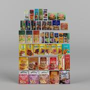食料品セット1 3d model