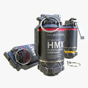 """Sci fi grenade """"Elysium"""" 3d model"""