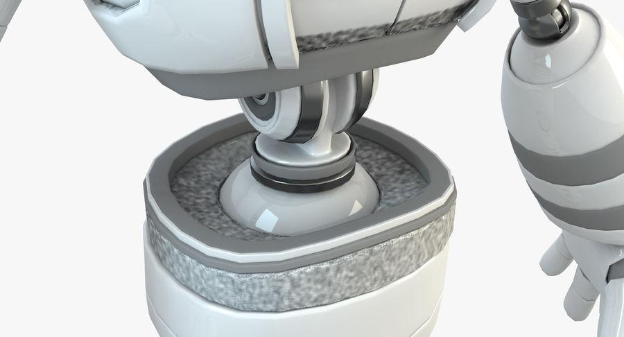 Robot Humanoide karakter royalty-free 3d model - Preview no. 8