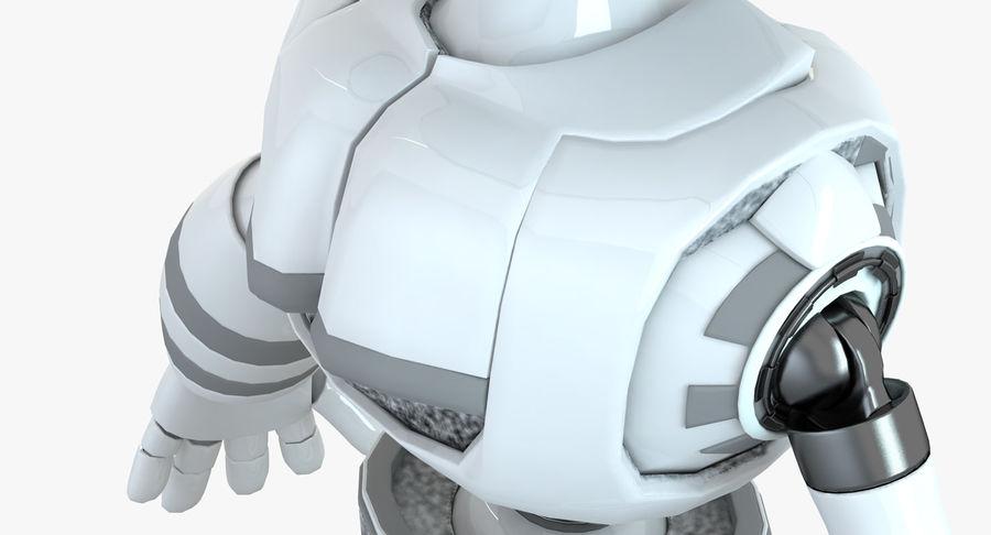 Robot Humanoide karakter royalty-free 3d model - Preview no. 7