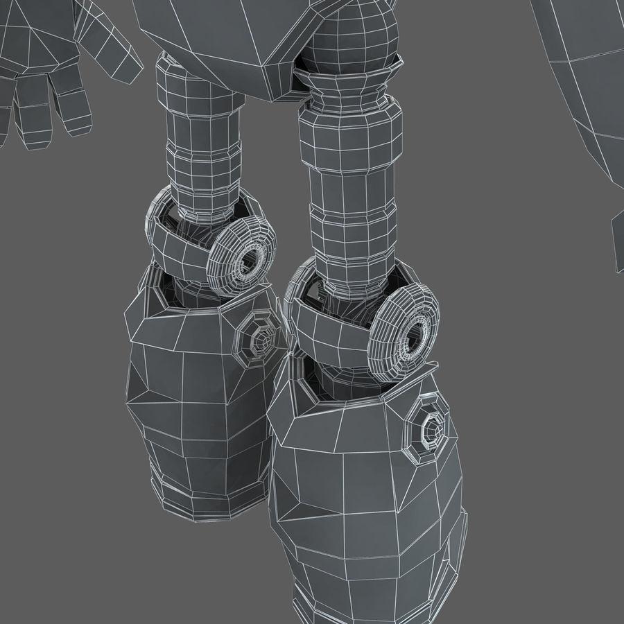 Robot Humanoide karakter royalty-free 3d model - Preview no. 25