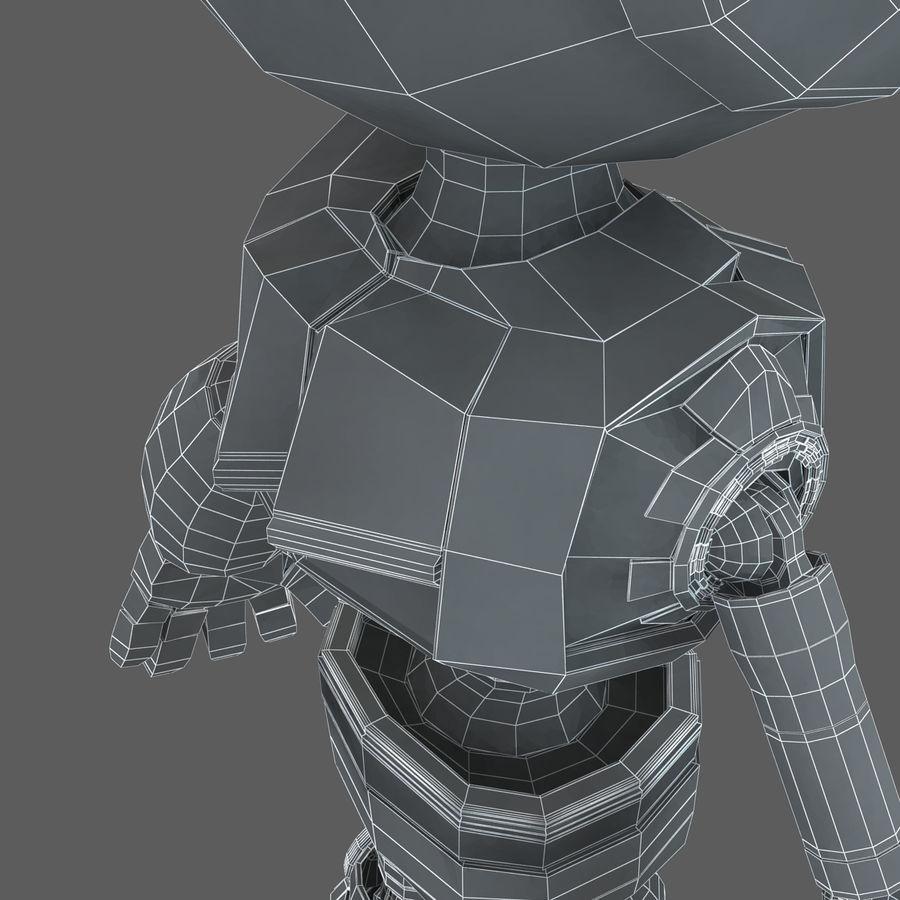 Robot Humanoide karakter royalty-free 3d model - Preview no. 22