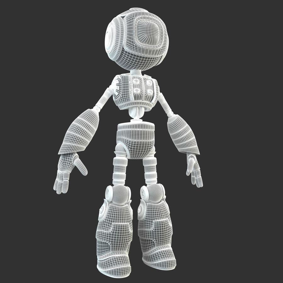 Robot Humanoide karakter royalty-free 3d model - Preview no. 16
