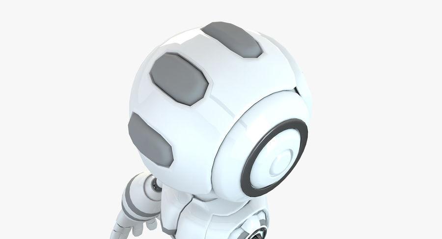 Robot Humanoide karakter royalty-free 3d model - Preview no. 4