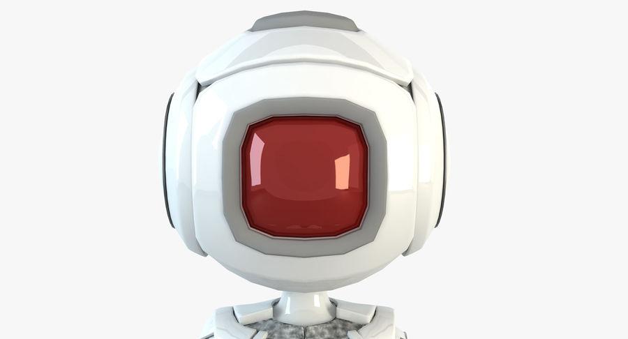 Robot Humanoide karakter royalty-free 3d model - Preview no. 2
