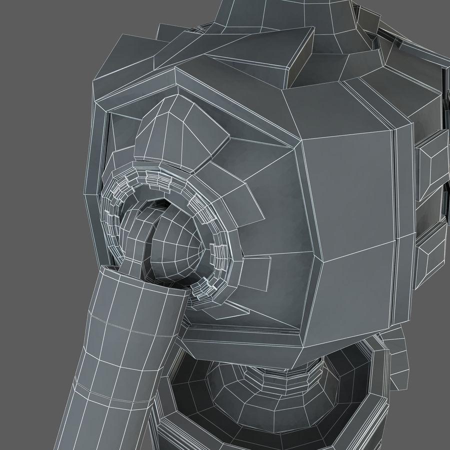 Robot Humanoide karakter royalty-free 3d model - Preview no. 21