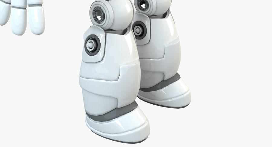 Robot Humanoide karakter royalty-free 3d model - Preview no. 12