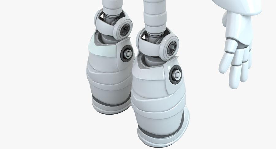 Robot Humanoide karakter royalty-free 3d model - Preview no. 11