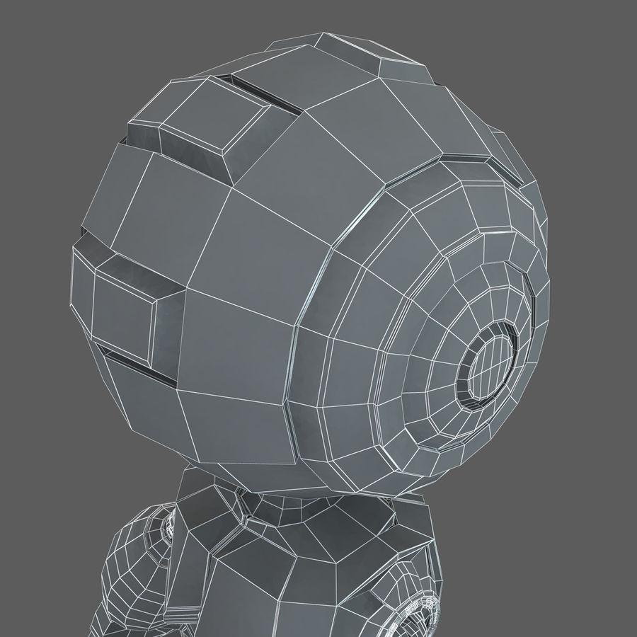 Robot Humanoide karakter royalty-free 3d model - Preview no. 19