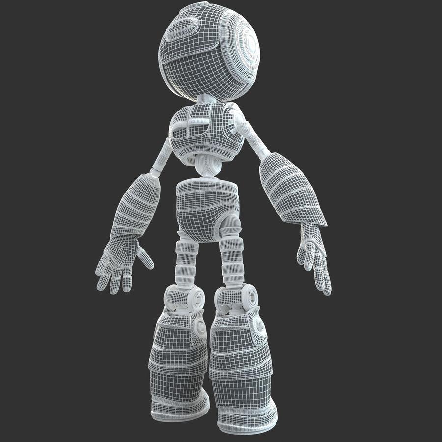 Robot Humanoide karakter royalty-free 3d model - Preview no. 15