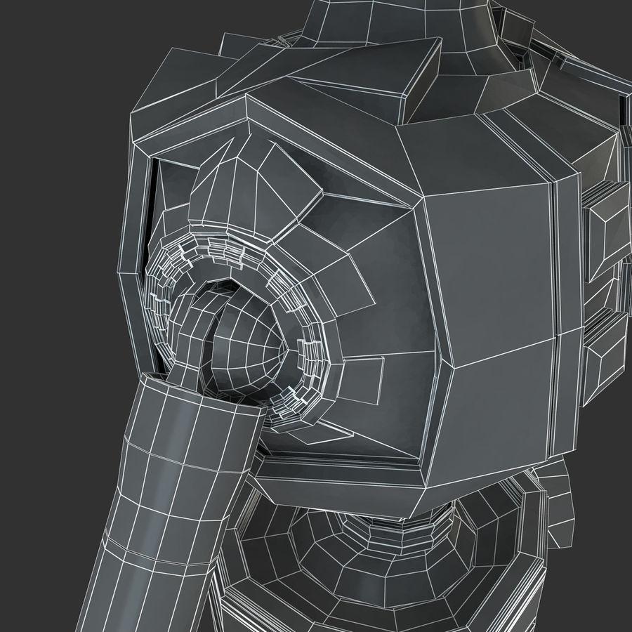 ロボットANDROID royalty-free 3d model - Preview no. 21