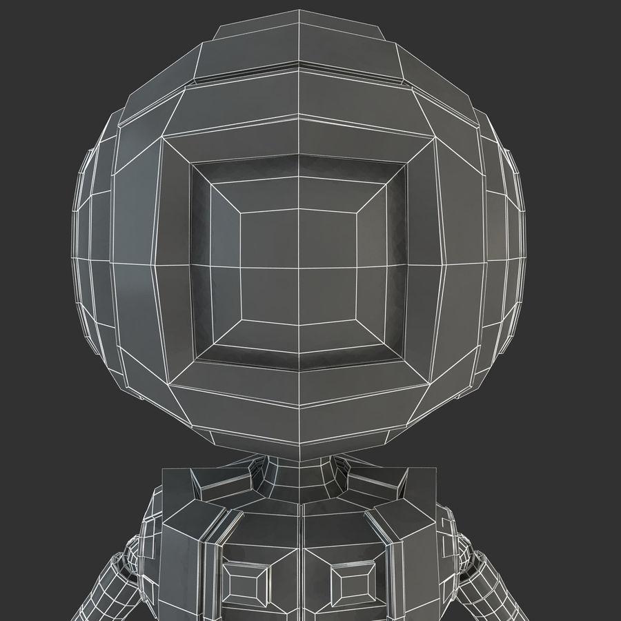 ロボットANDROID royalty-free 3d model - Preview no. 17