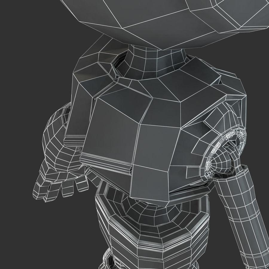 ロボットANDROID royalty-free 3d model - Preview no. 22