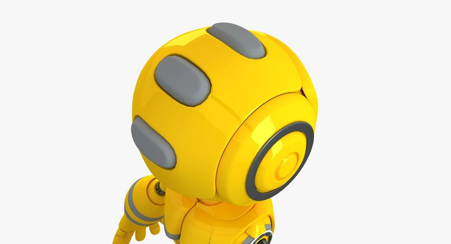ロボットANDROID royalty-free 3d model - Preview no. 5