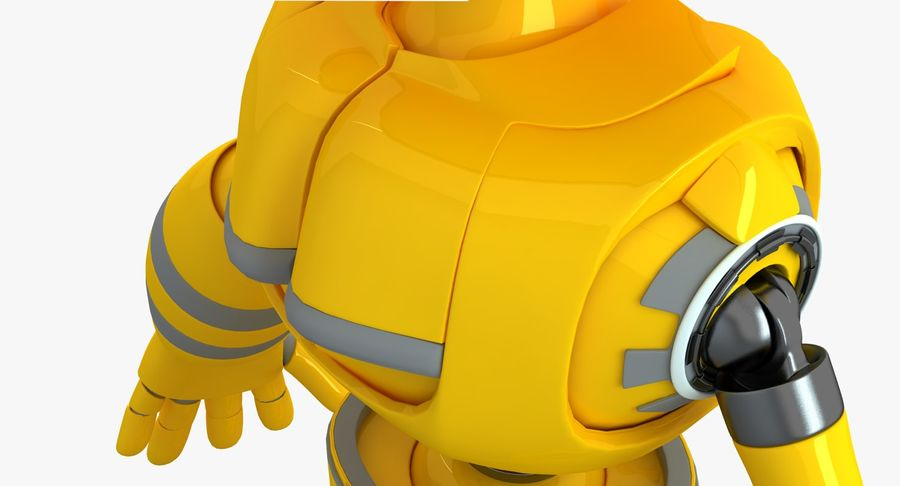 ロボットANDROID royalty-free 3d model - Preview no. 8