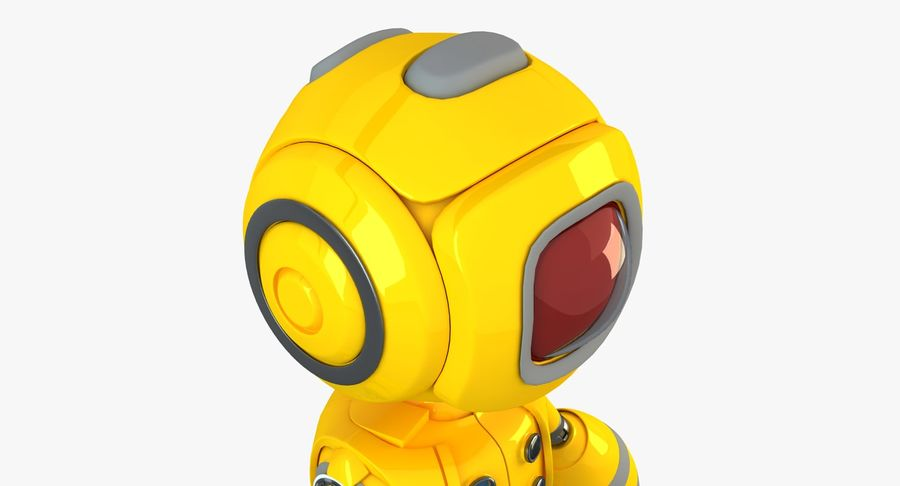 ロボットANDROID royalty-free 3d model - Preview no. 4