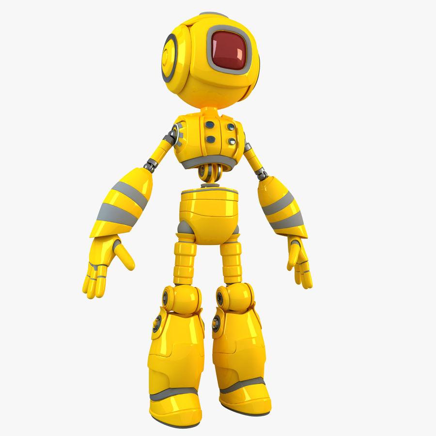 ロボットANDROID royalty-free 3d model - Preview no. 1