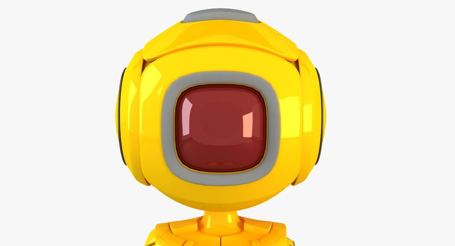 ロボットANDROID royalty-free 3d model - Preview no. 3