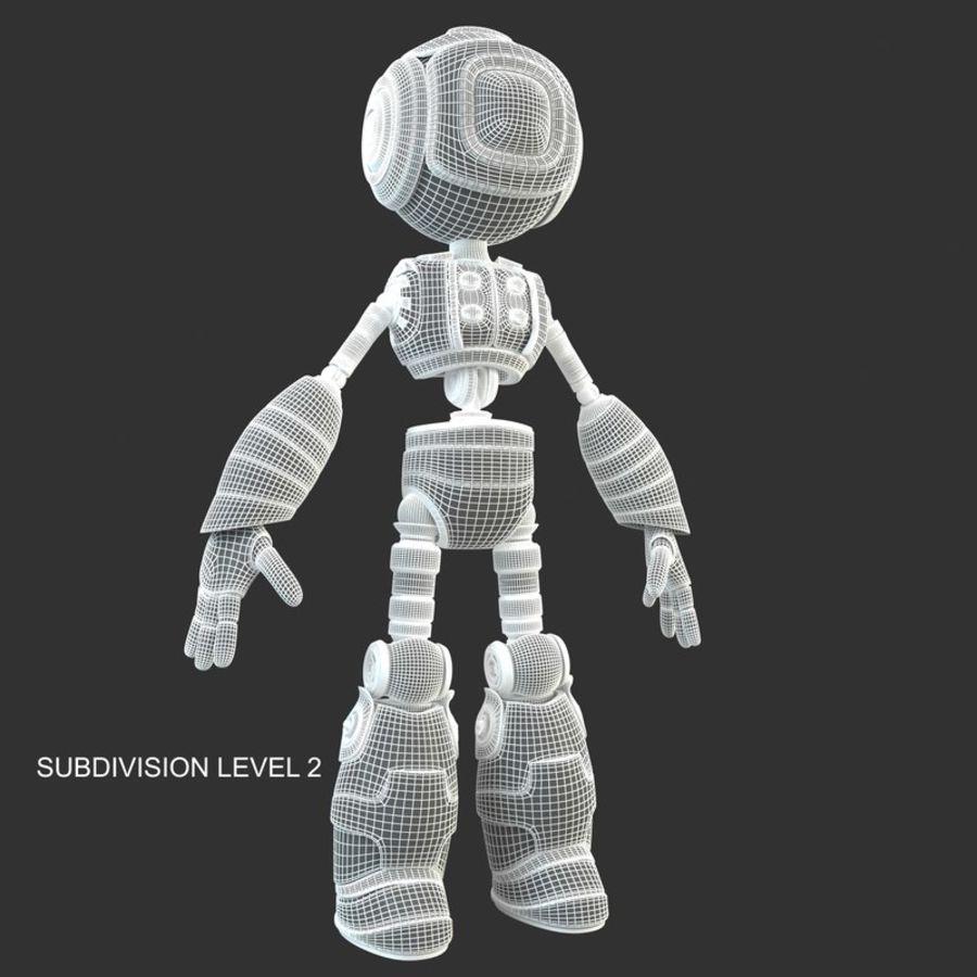 ロボットANDROID royalty-free 3d model - Preview no. 15