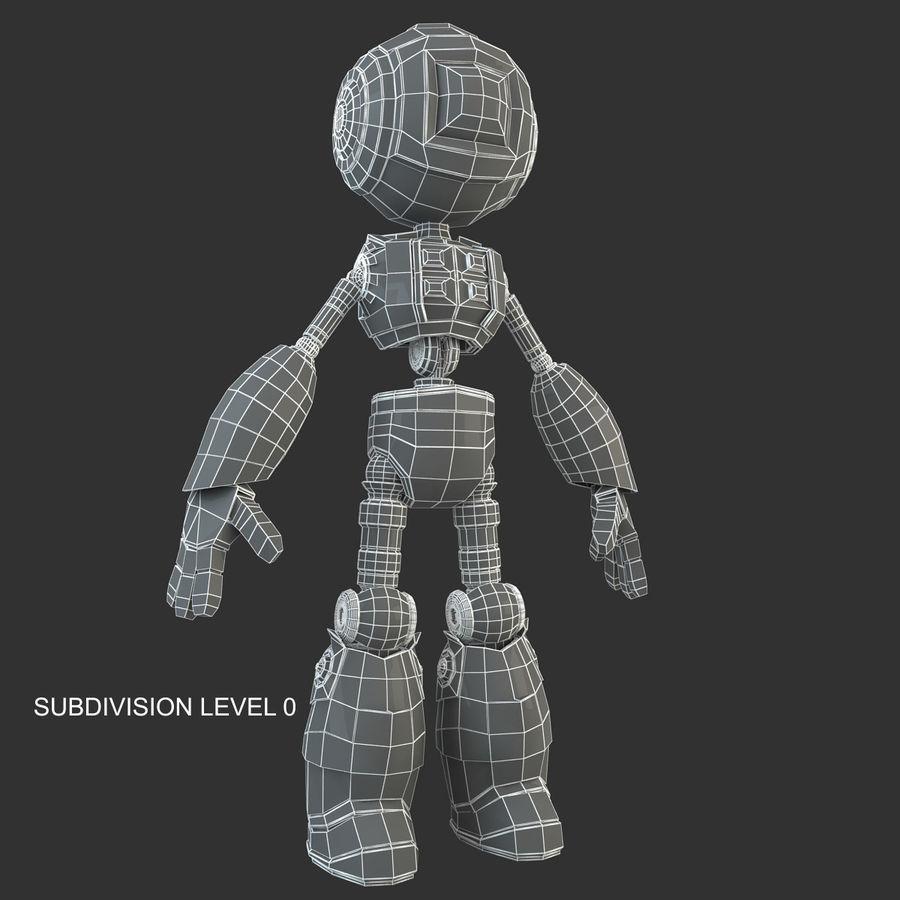 ロボットANDROID royalty-free 3d model - Preview no. 13