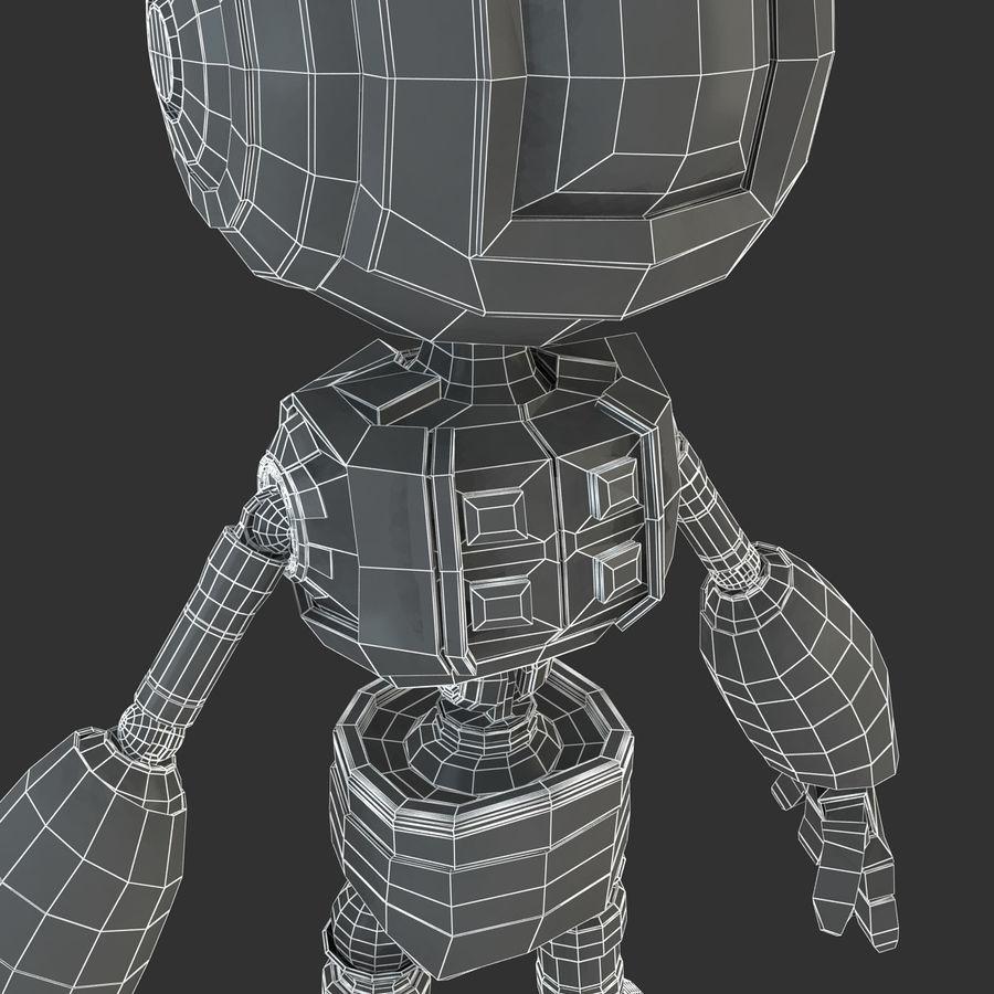 ロボットANDROID royalty-free 3d model - Preview no. 20
