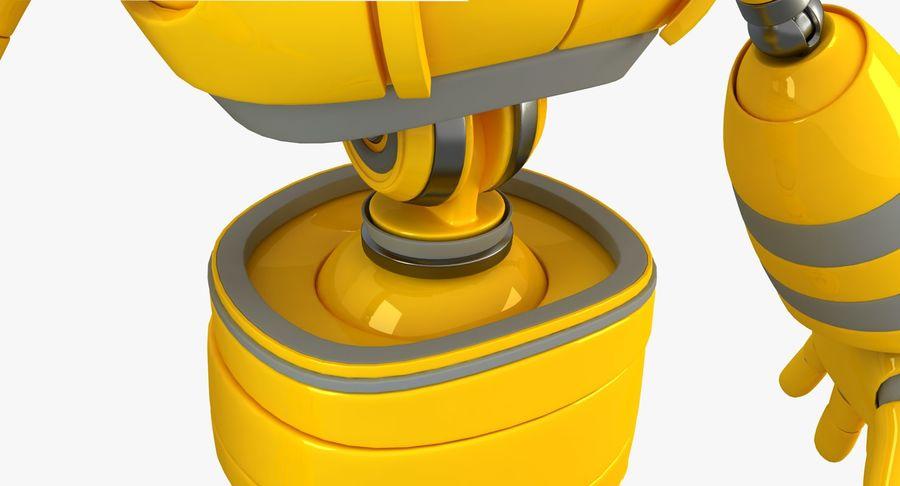 ロボットANDROID royalty-free 3d model - Preview no. 9