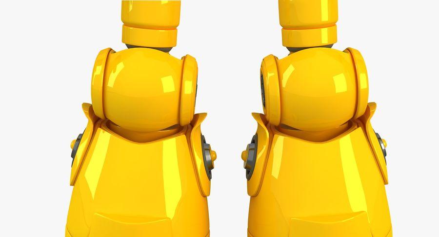 ロボットANDROID royalty-free 3d model - Preview no. 10