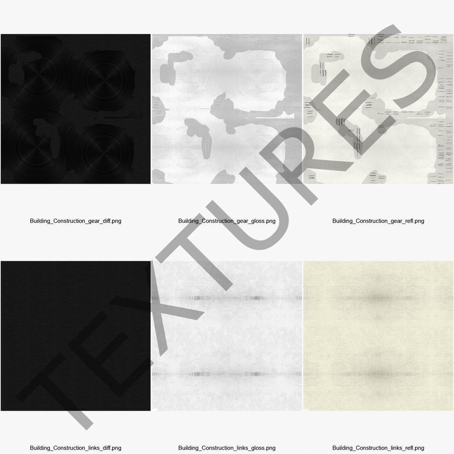 Crankshaft royalty-free 3d model - Preview no. 16