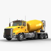 Camion betoniera 3d model