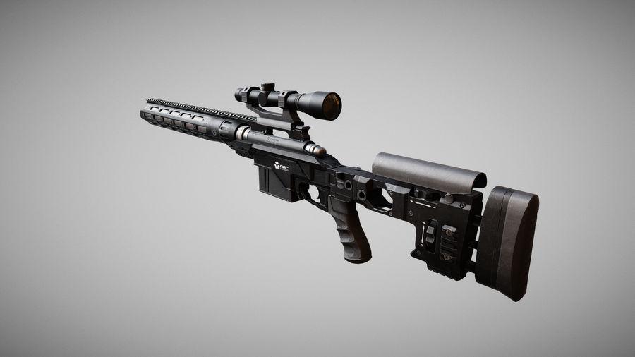レミントン700 RACS royalty-free 3d model - Preview no. 9
