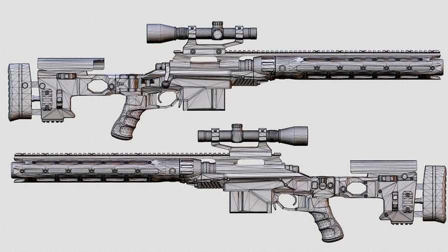 レミントン700 RACS royalty-free 3d model - Preview no. 8
