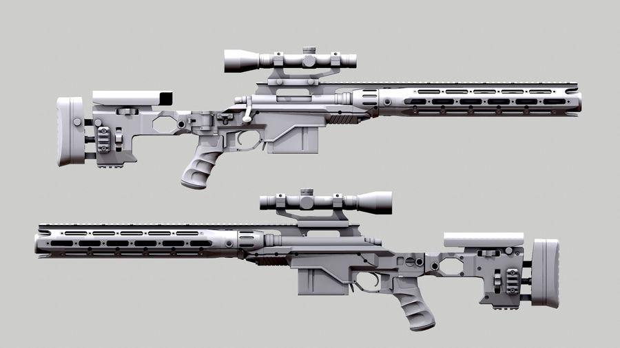 レミントン700 RACS royalty-free 3d model - Preview no. 6