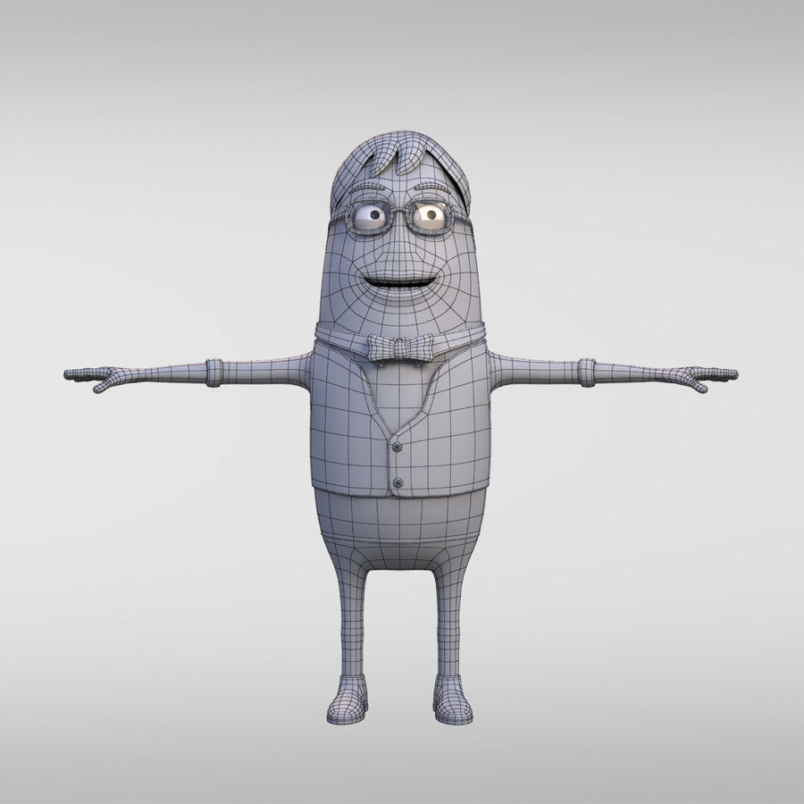 Cartoon Jason royalty-free 3d model - Preview no. 2