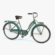 Old Bicycle(1) 3d model