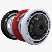 Ruedas de rodillo modelo 3d