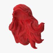 Ariel Wig 3d model