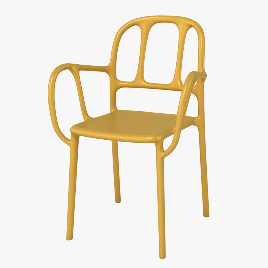 Magis Mila Chair 3d Model 39 Obj Max Fbx Free3d
