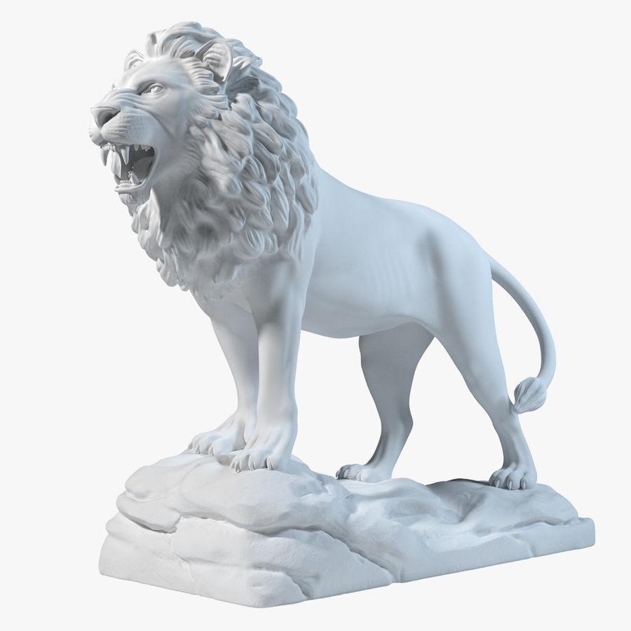 Lion Statue Sculpture 3D Model $49 ...