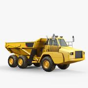 Сочлененный грузовик 3d model