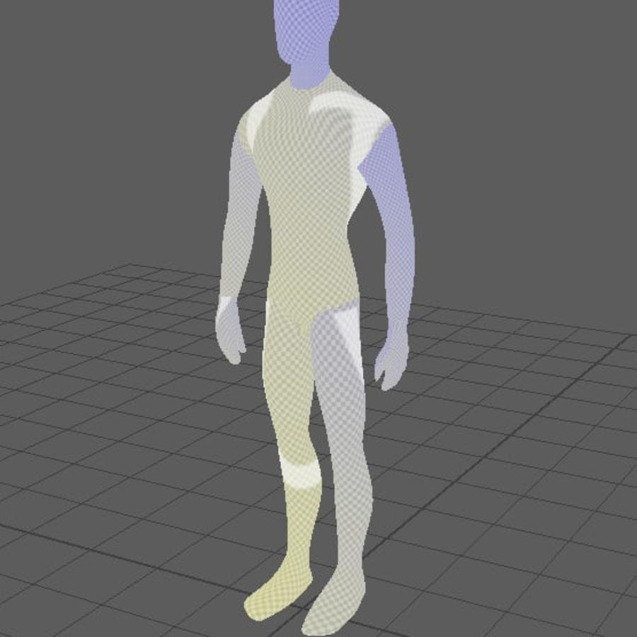 Grundläggande MAN royalty-free 3d model - Preview no. 7