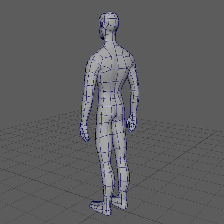 Grundläggande MAN royalty-free 3d model - Preview no. 4