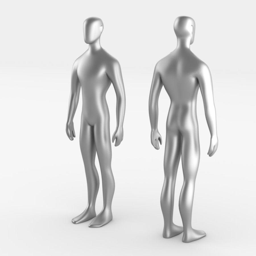 Grundläggande MAN royalty-free 3d model - Preview no. 1