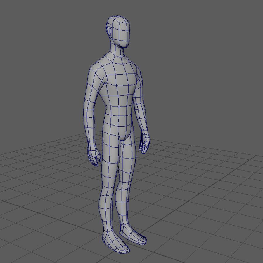 Grundläggande MAN royalty-free 3d model - Preview no. 6