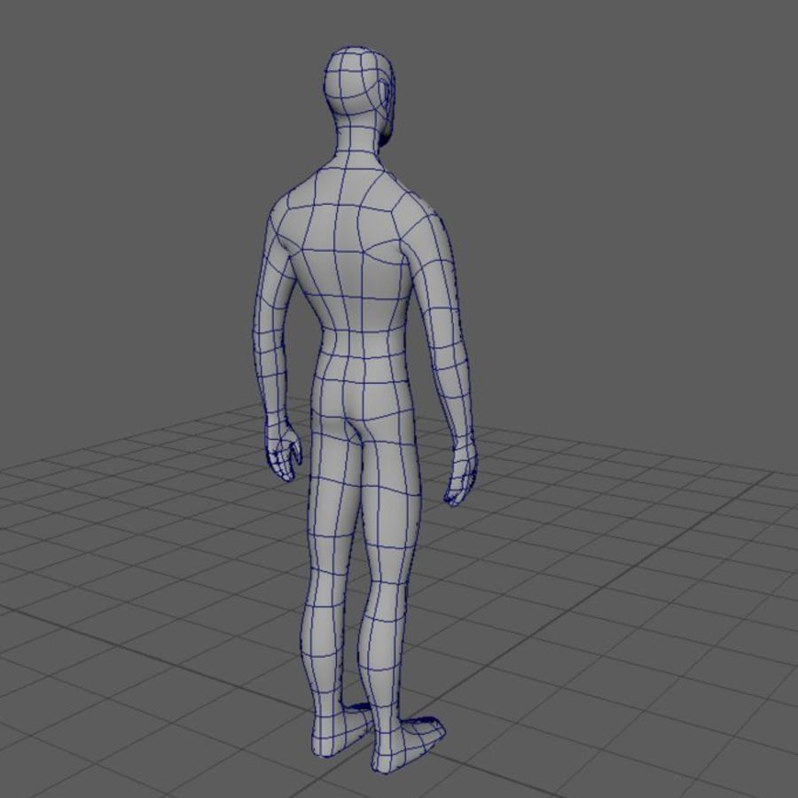 Grundläggande MAN royalty-free 3d model - Preview no. 5