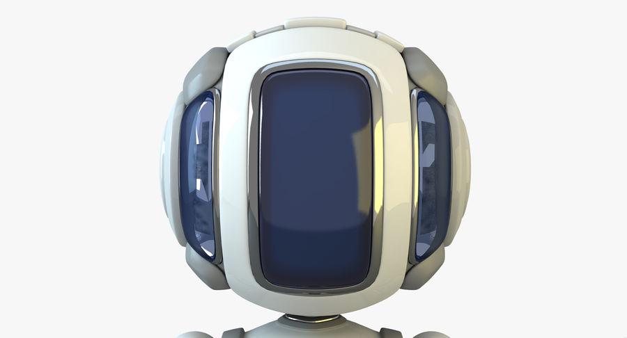 Scifi Robot(1) royalty-free 3d model - Preview no. 5