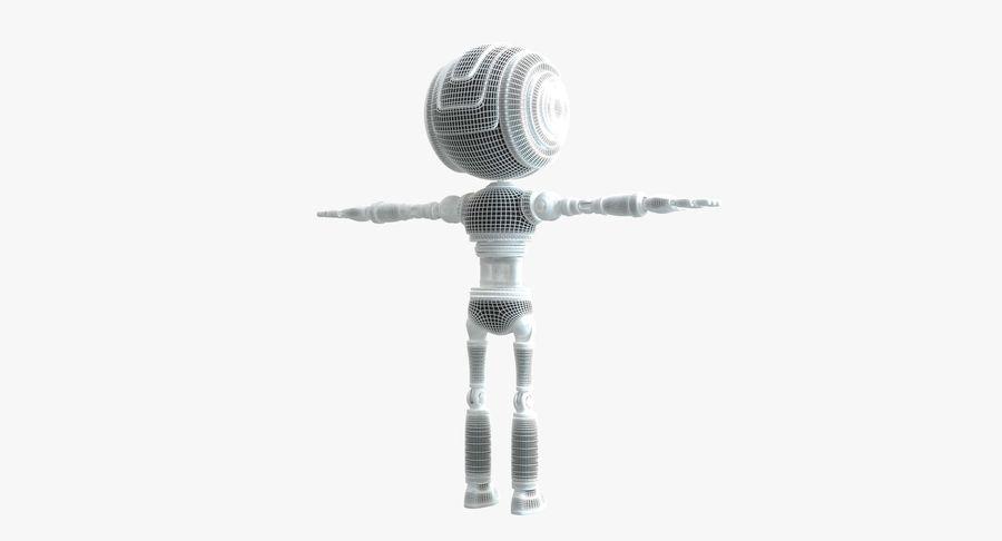 Scifi Robot(1) royalty-free 3d model - Preview no. 14